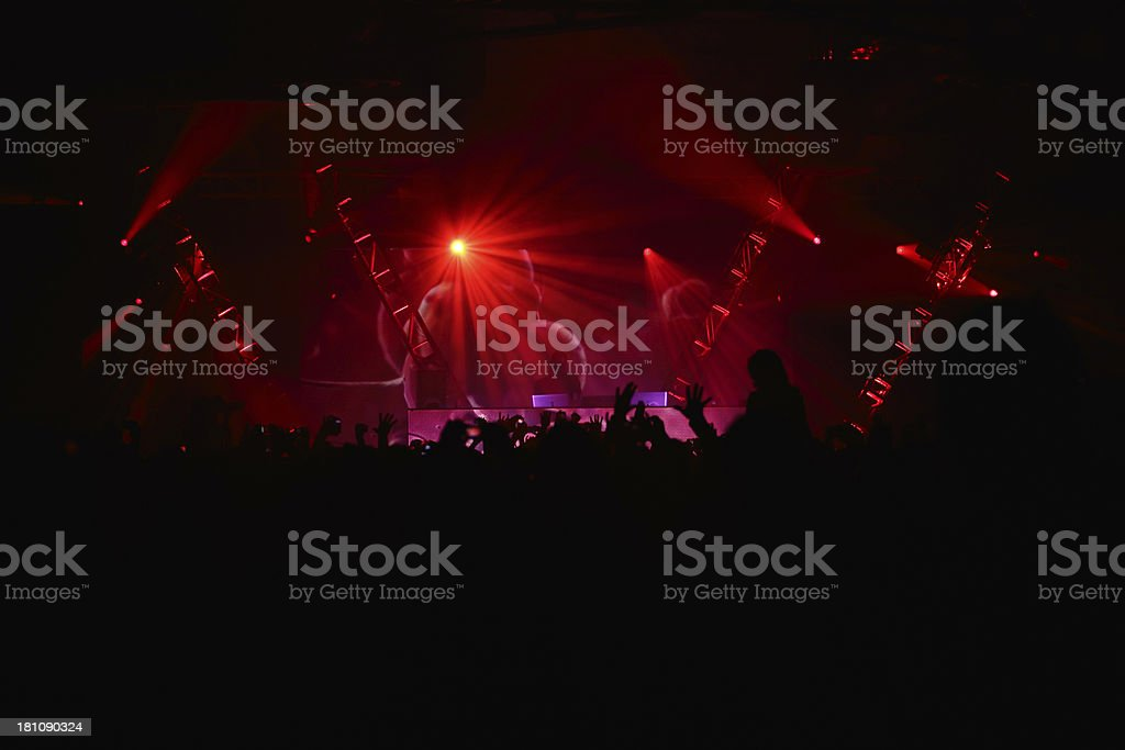 Rave royalty-free stock photo