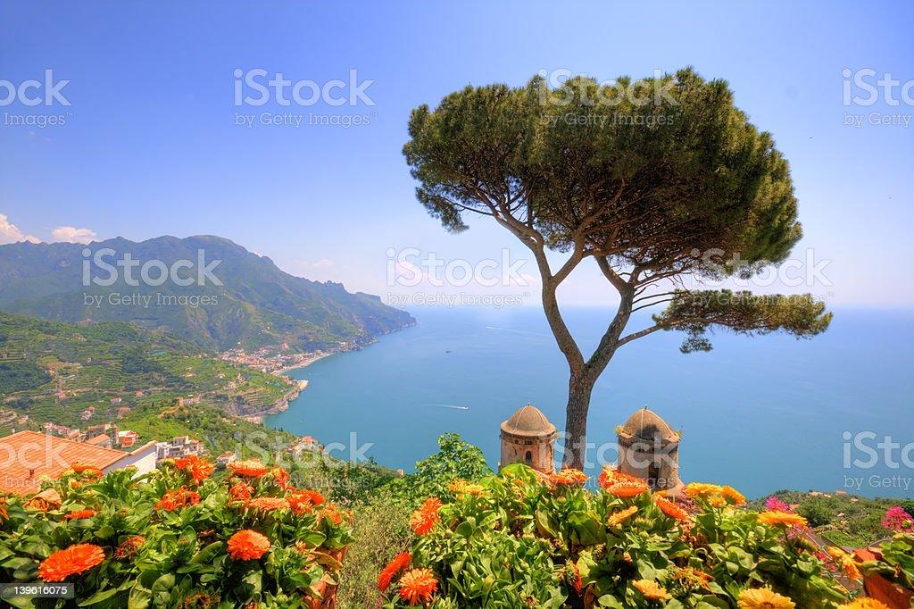 Ravello, Amalfi Coast, Italy stock photo