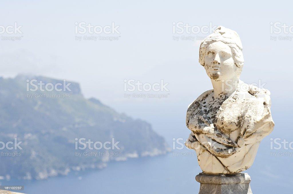 Ravello - Amalfi Coast stock photo