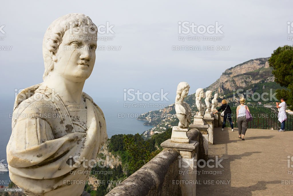 Ravello on the Amalfi Coast, Italy royalty-free stock photo
