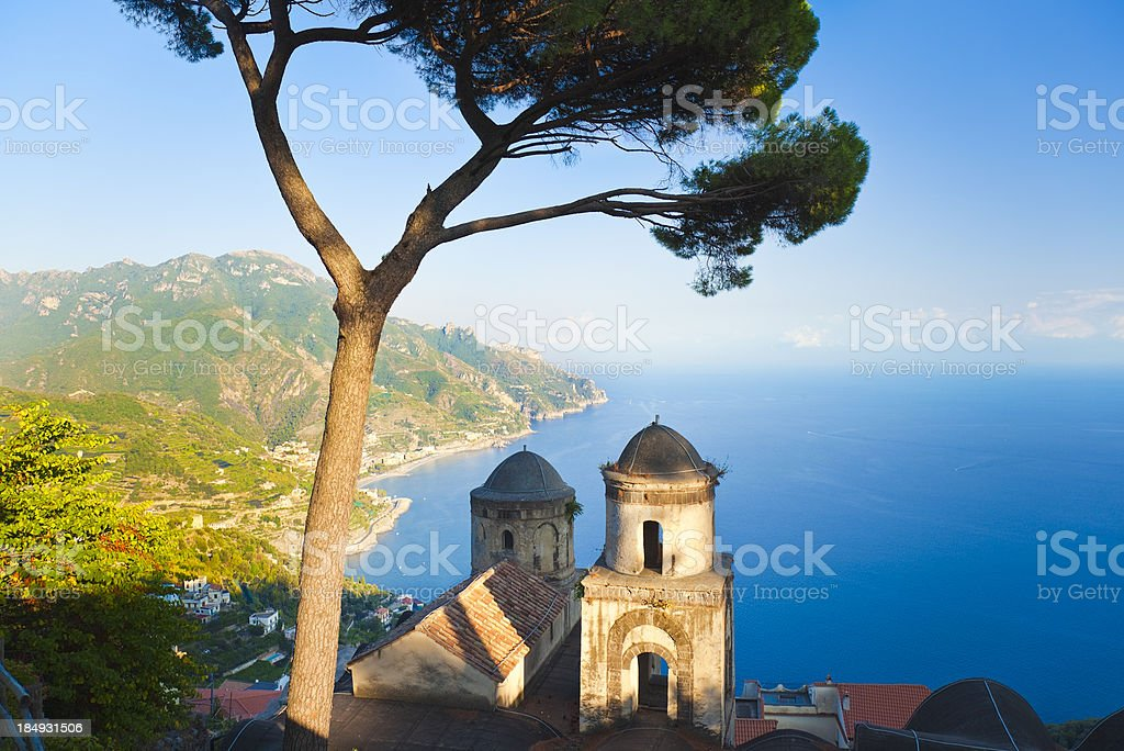 Ravello (Campania, Amalfi Coast, Italy) stock photo