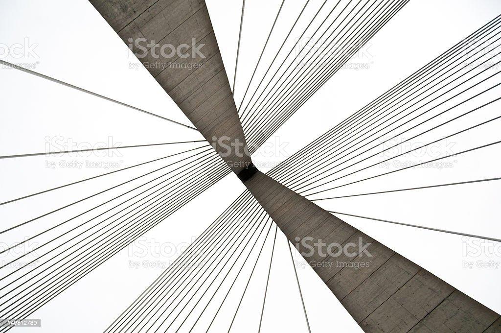 Ravenel Bridge stock photo
