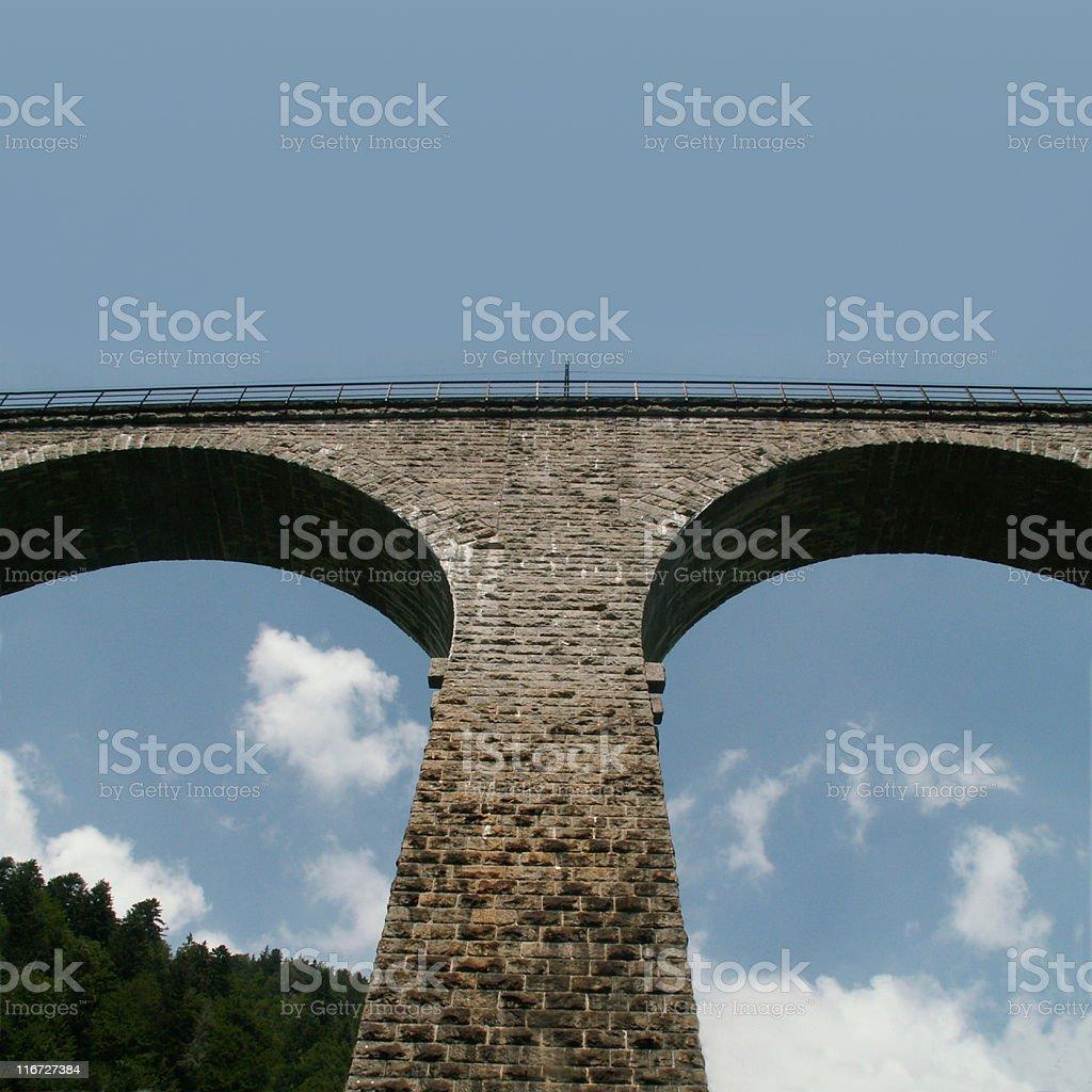 Ravenna-Viadukt im Scharzwald stock photo