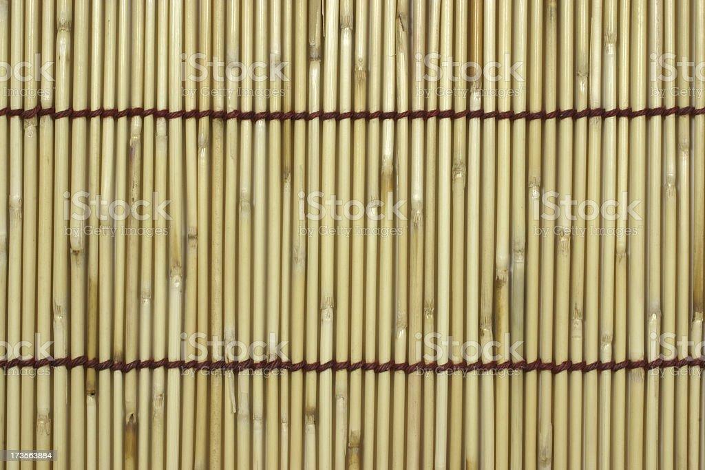 Raw Bamboo Stick Pattern royalty-free stock photo