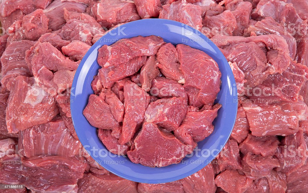 raw beef meat closeup royalty-free stock photo