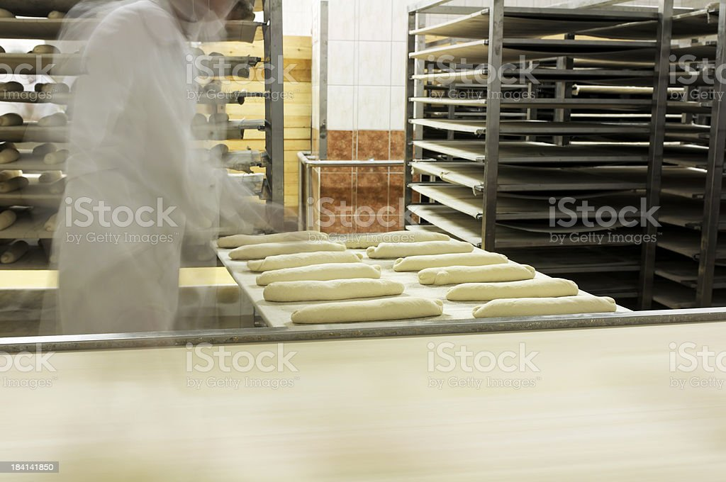 Raw Breads royalty-free stock photo