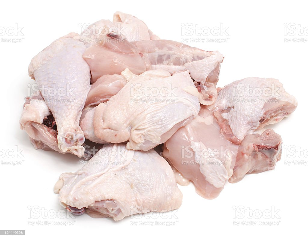 raw chicken meat royalty-free stock photo