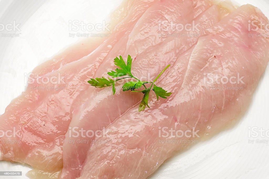 Carne de frango cru foto royalty-free