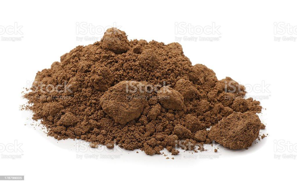 Raw clay stock photo