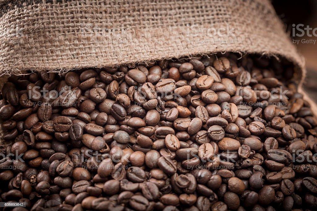 Raw Coffee stock photo
