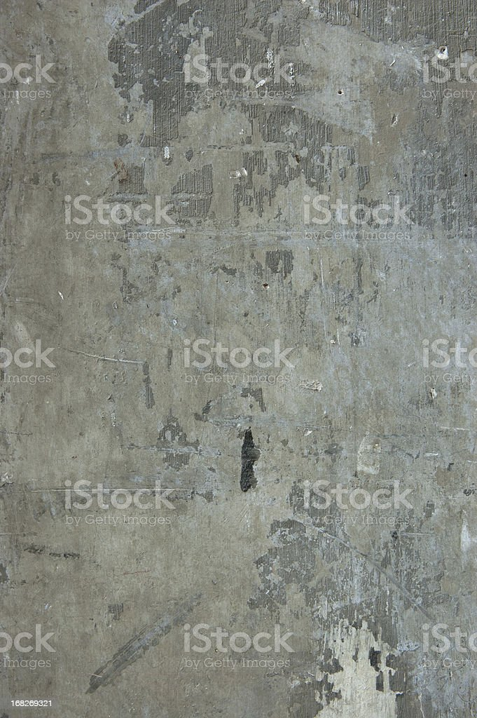 Raw Concrete grunge Weathered Wall with Texture royalty-free stock photo
