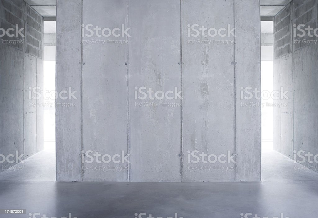 raw concrete wall royalty-free stock photo