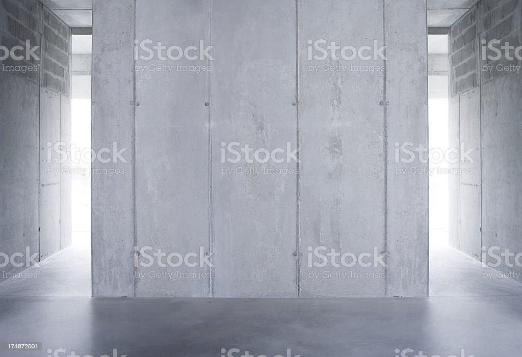raw concrete wall stock photo