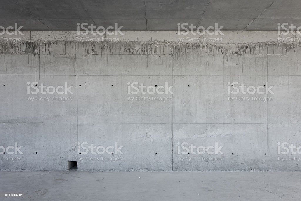 Raw Concrete Wall with Texture stock photo