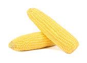 Raw corn cob