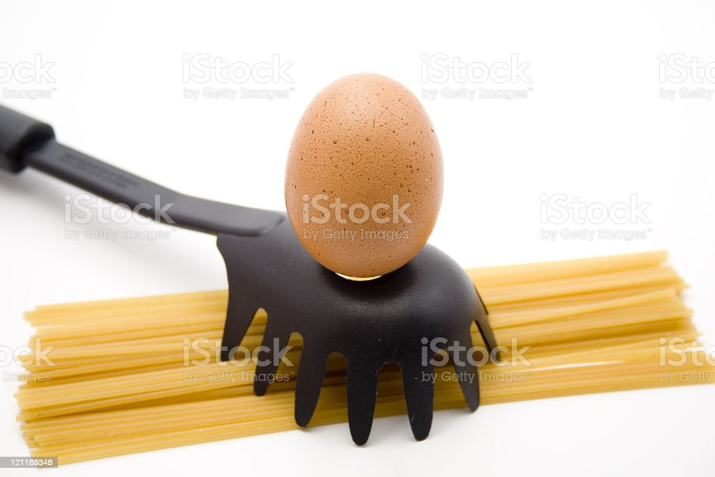 Raw egg royalty-free stock photo