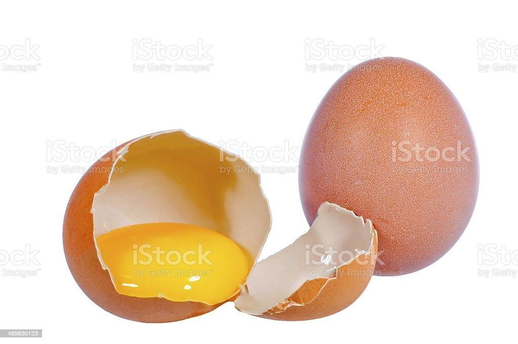 raw eggs royalty-free stock photo