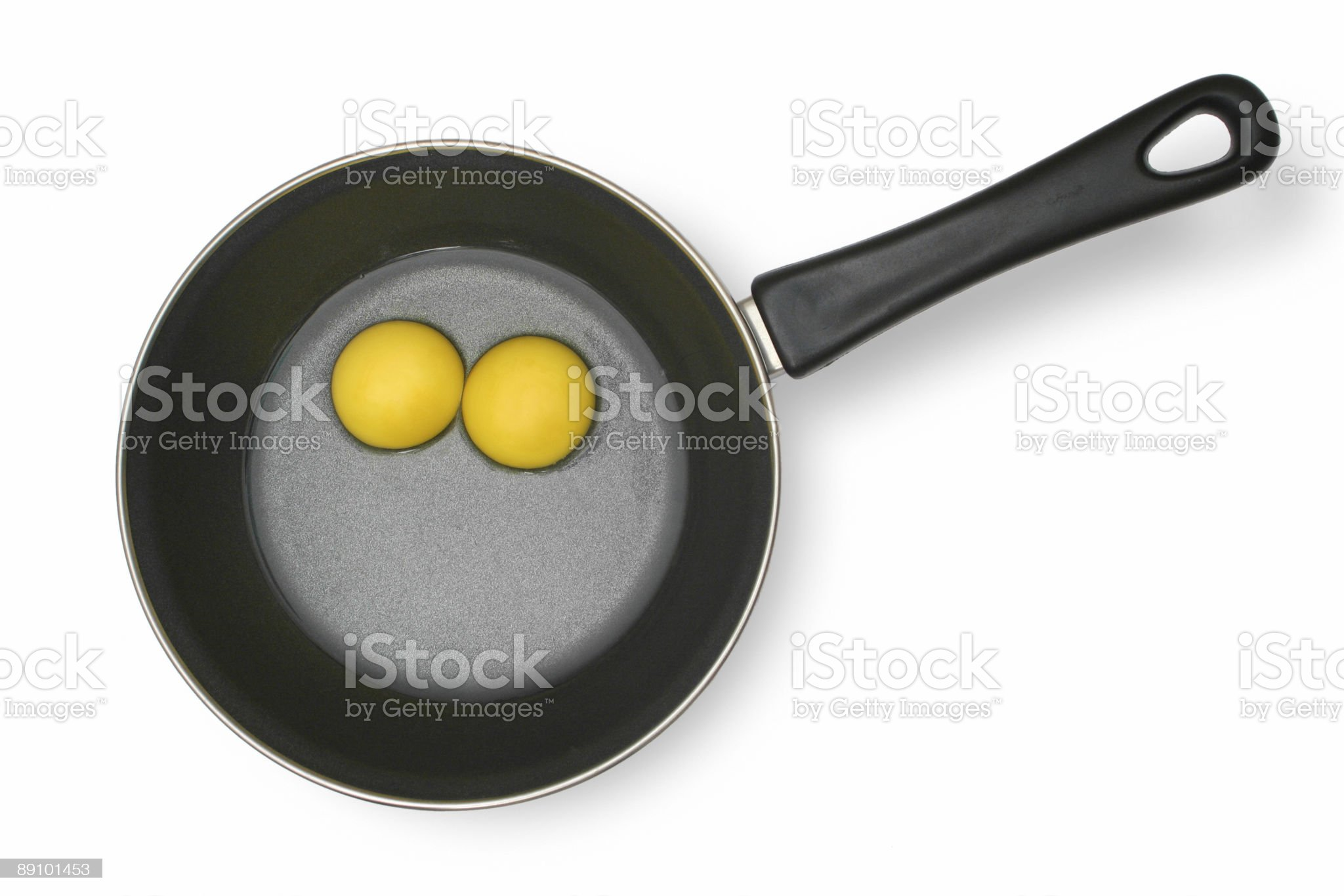 Raw eggs royalty-free stock photo