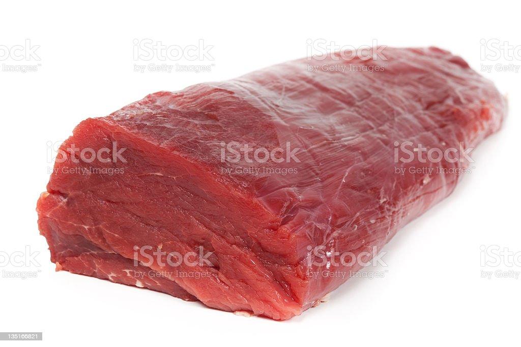 Raw filet stock photo