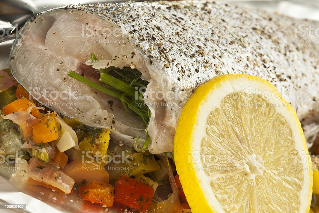 Raw Fish royalty-free stock photo