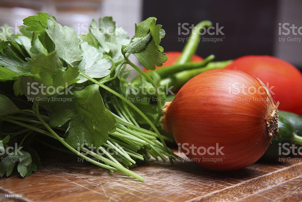 Raw Food stock photo