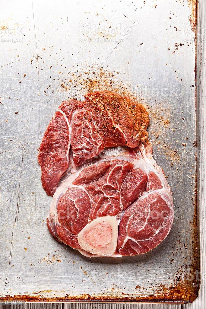 Raw frisches Rindfleisch – Foto