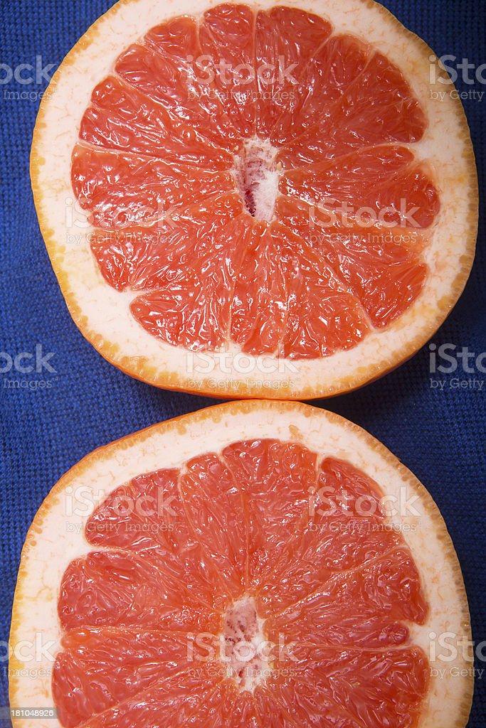 Raw Grapefruit royalty-free stock photo