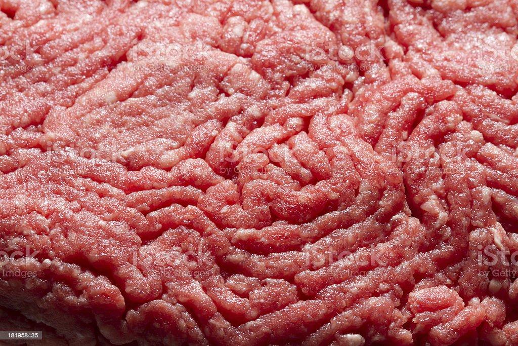 Raw Ground Beef stock photo