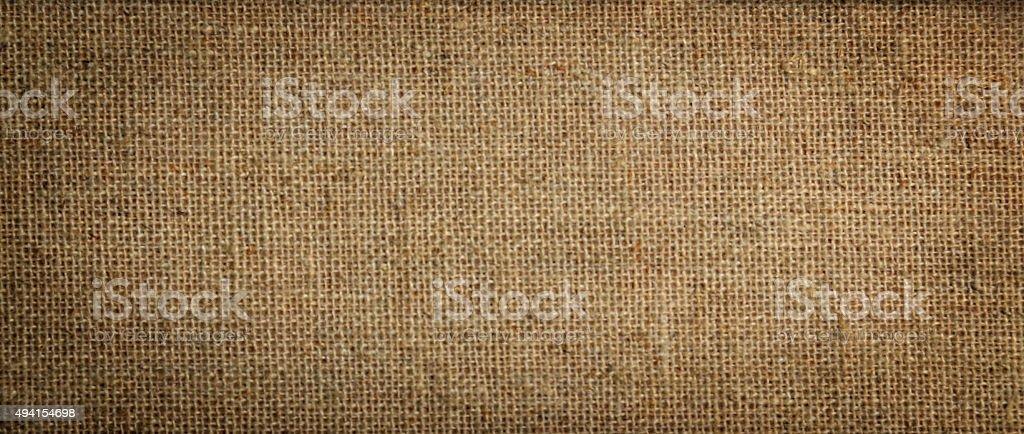 Raw linen texture stock photo