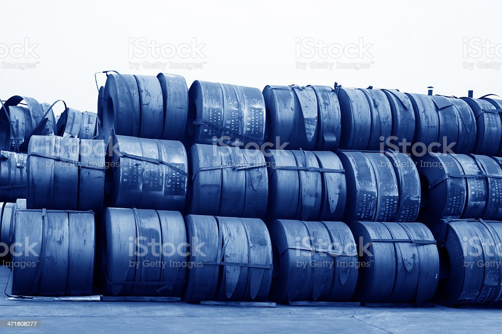 raw materials strip royalty-free stock photo