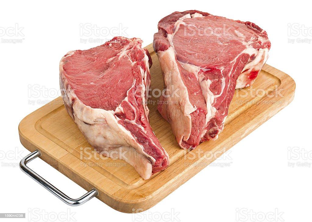raw meat, fresh beef royalty-free stock photo