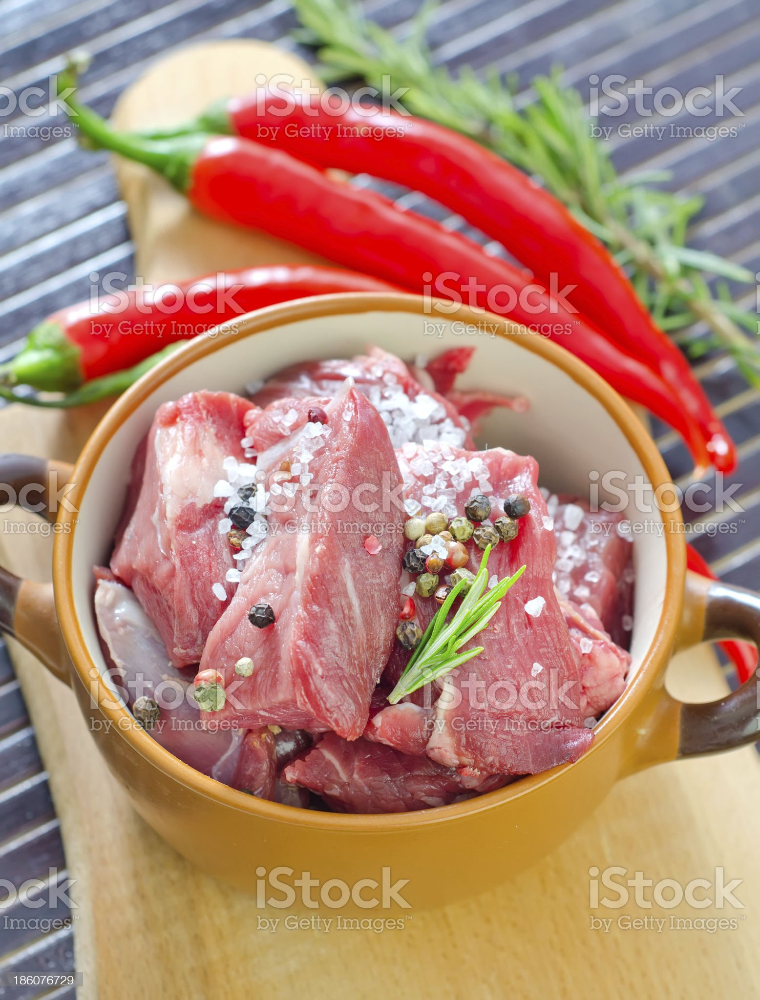 raw meat royalty-free stock photo