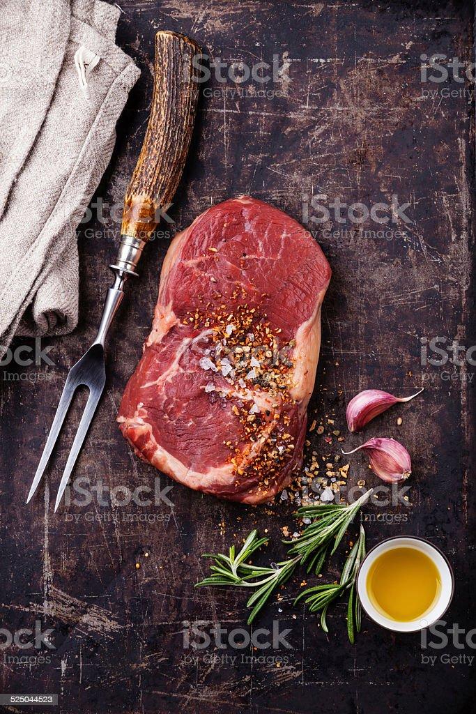 Rohes Fleisch-Eye-Steak – Foto