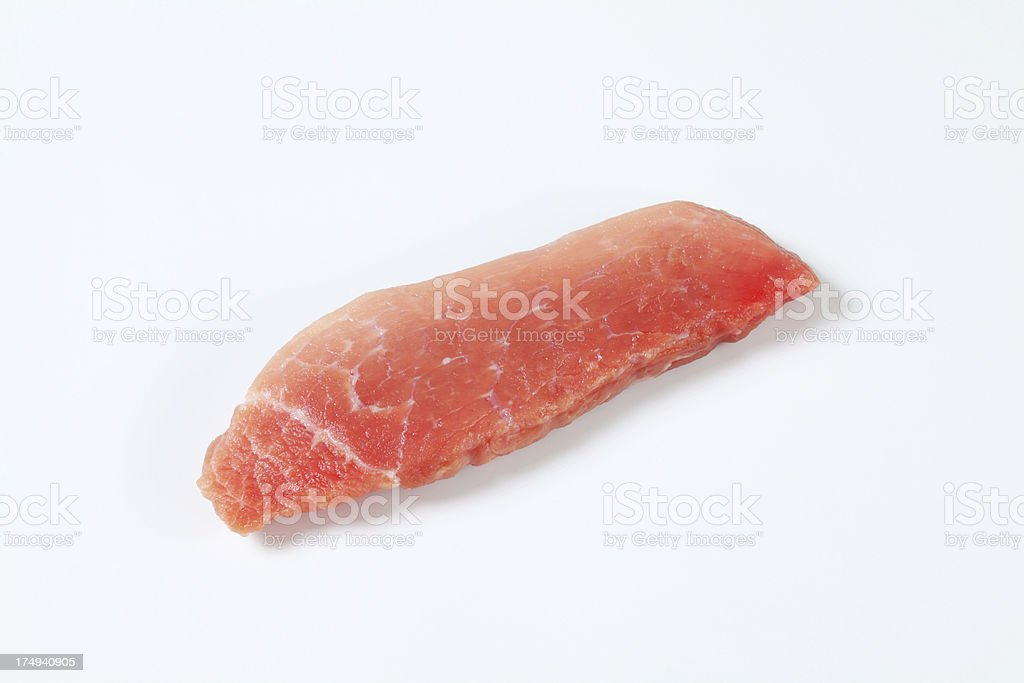 Raw meat steaks royalty-free stock photo
