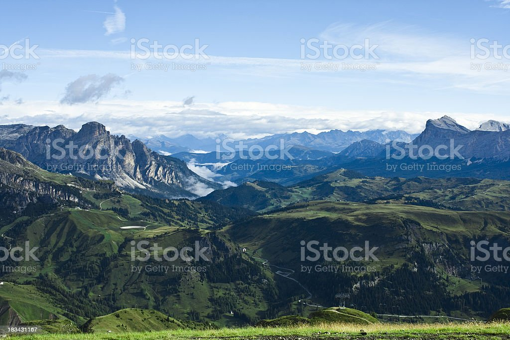 Raw nature landscape royalty-free stock photo
