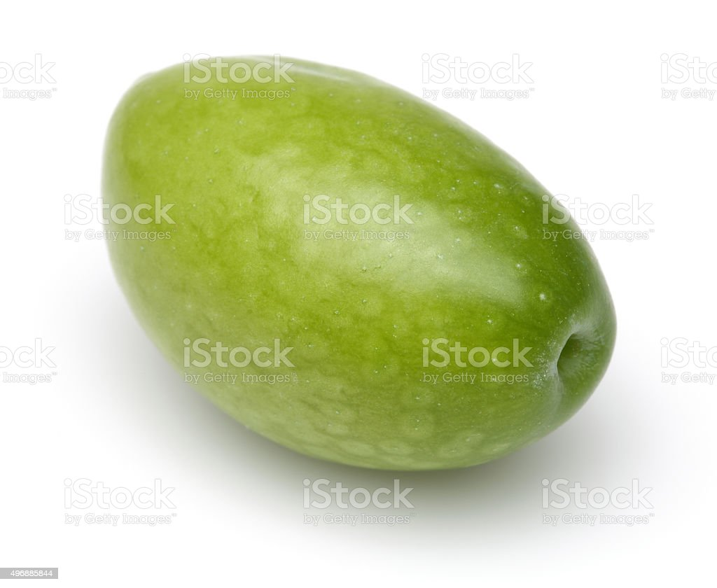 Raw Olive stock photo