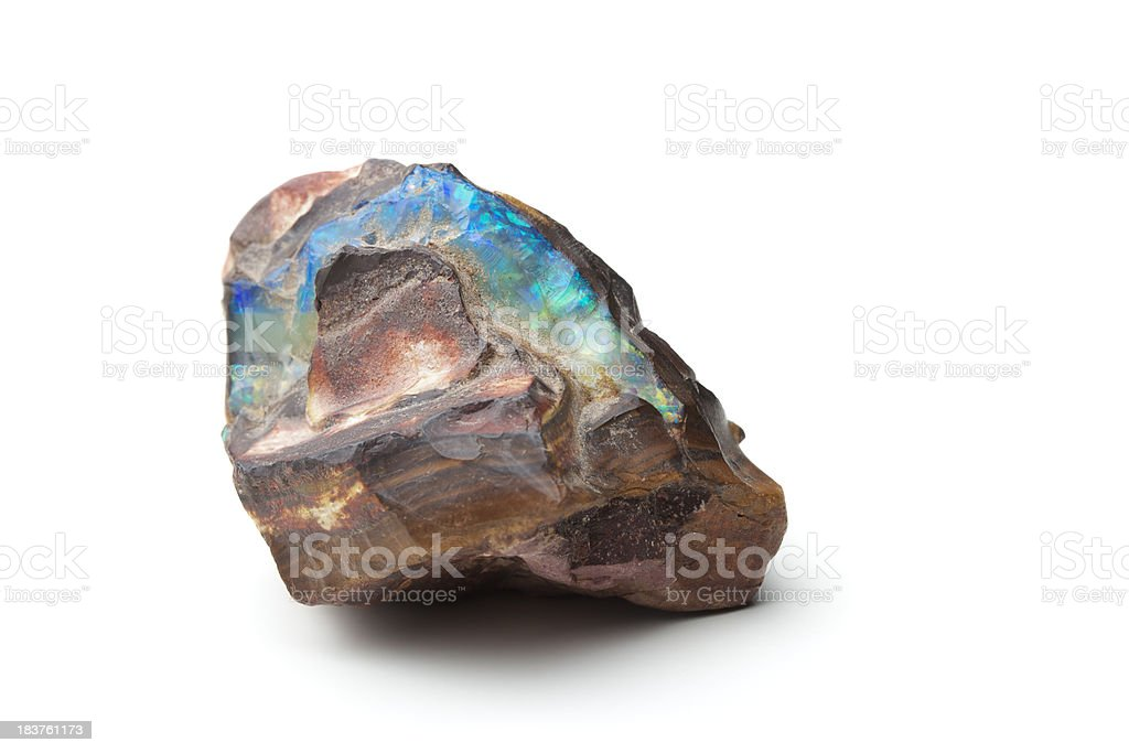 Raw Opal royalty-free stock photo