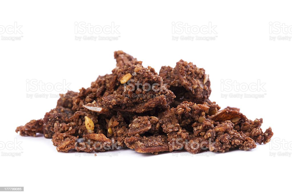 Raw Organic Cacao Superfood Cereal royalty-free stock photo