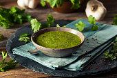 Raw Organic Green Chimichurri Sauce