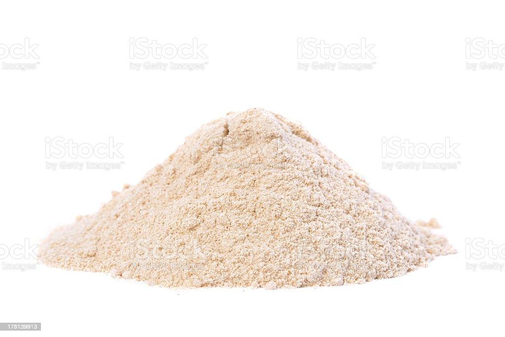 Raw Organic Lucuma Powder stock photo