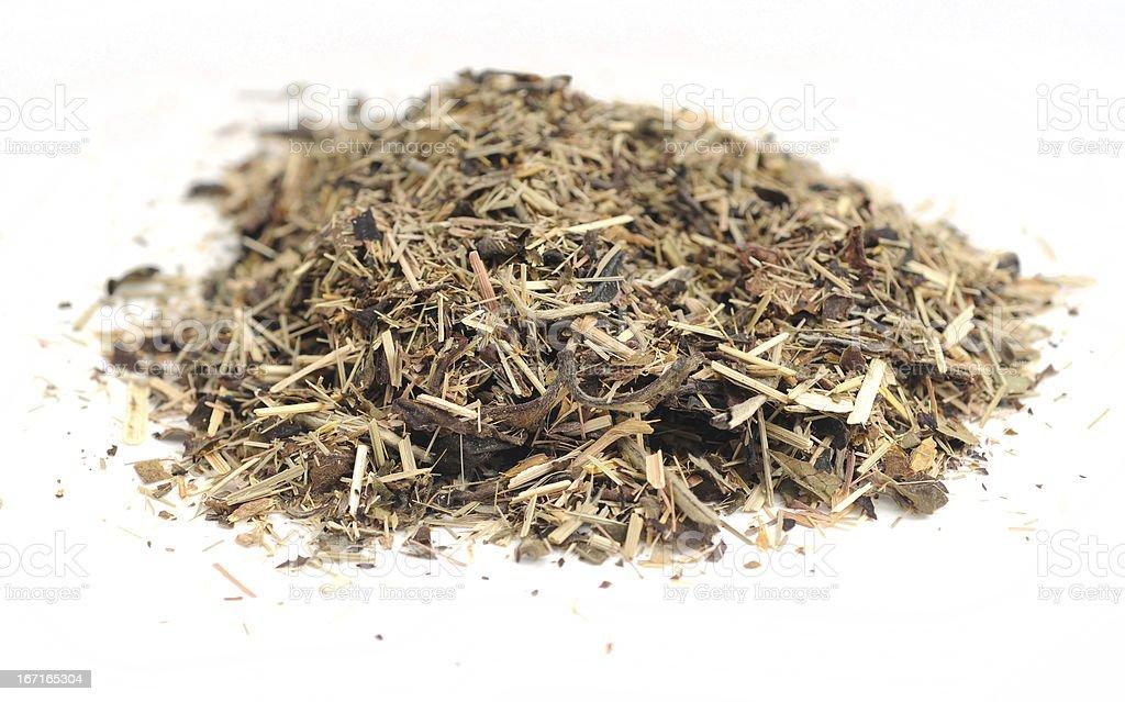 Raw organic tea royalty-free stock photo