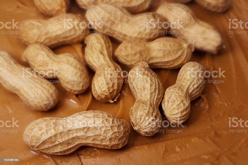 Raw Peanuts stock photo