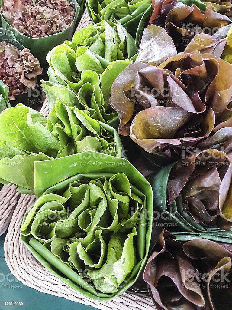 Raw salad stock photo