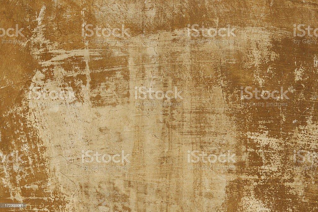 Raw Sienna Roman grunge wall texture stock photo