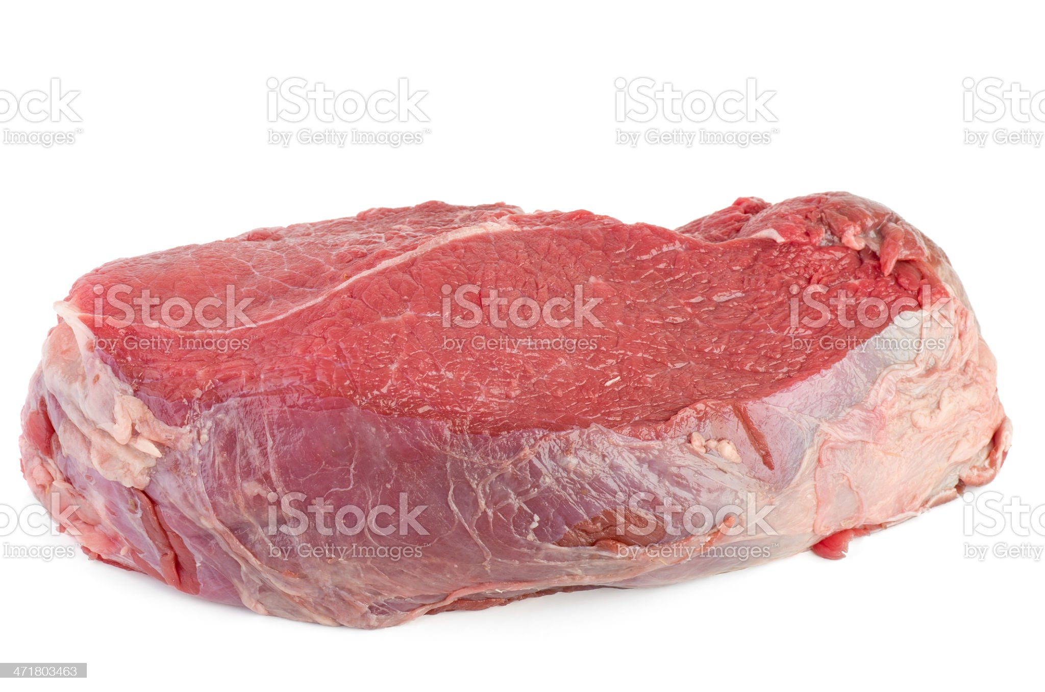 Raw veal slab royalty-free stock photo