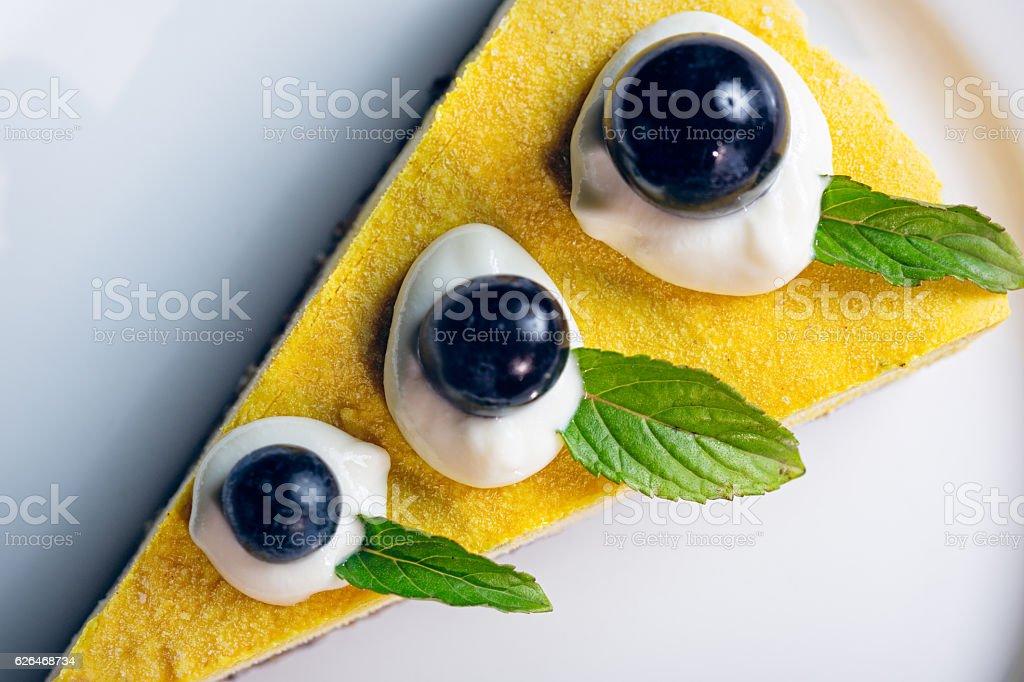 Raw vegan cake stock photo