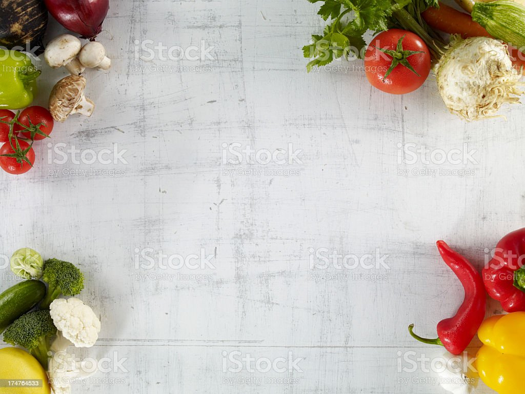 Raw Vegetables royalty-free stock photo