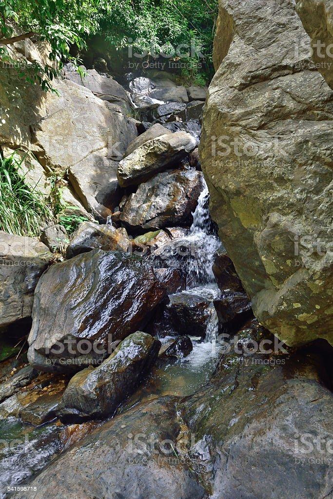 Rawana Ella Waterfall stock photo