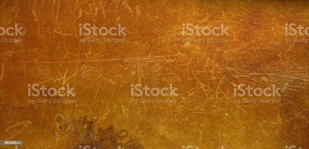 XXL rawhide leather in brown color royalty-free stock photo
