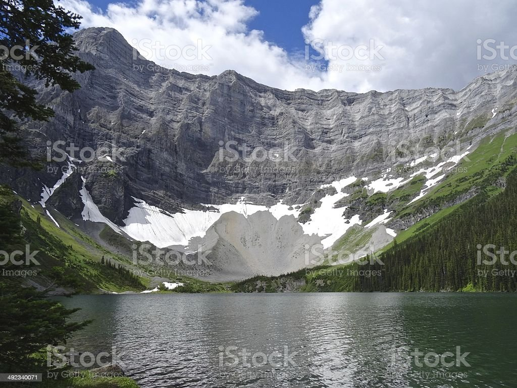 Rawson Lake, Canada royalty-free stock photo